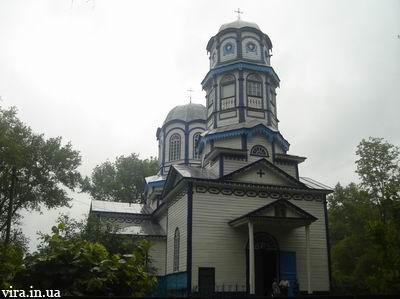 Свято-Миколаївський храм села Лозовий Яр